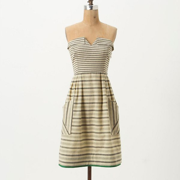 Anthropologie Dresses & Skirts - Anthropologie Maeve Changing Stripes Dress